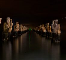 Old Pier by Andrew Dickman