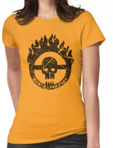 Max, Take The Wheel Womens Fitted T-Shirt