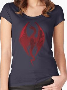 Dragon's Bane Women's Fitted Scoop T-Shirt