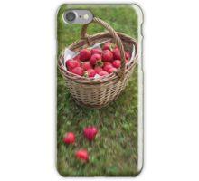 Basket of Strawberries iPhone Case/Skin