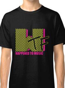 Flourescent WTF Happened Classic T-Shirt