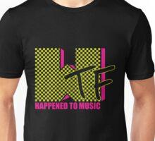 Flourescent WTF Happened Unisex T-Shirt