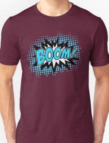 COMIC BOOM, Speech Bubble, Comic Book Explosion, Cartoon T-Shirt