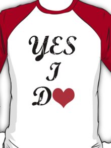 Would you marry me? yes i do couple  T-Shirt