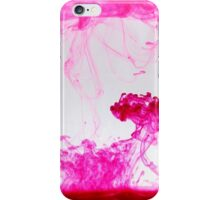 Pink ink iPhone Case/Skin