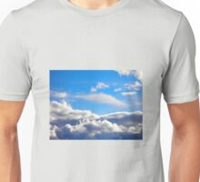Cloudy with a slight chance of rain... Unisex T-Shirt