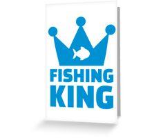 Fishing king Greeting Card