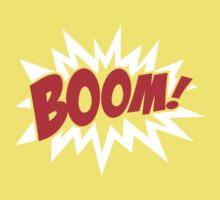 COMIC BOOM, Speech Bubble, Comic Book Explosion, Cartoon One Piece - Short Sleeve