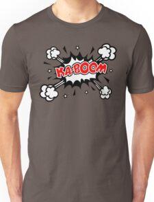 COMIC KA-BOOM, Speech Bubble, Comic Book Explosion, Cartoon Unisex T-Shirt