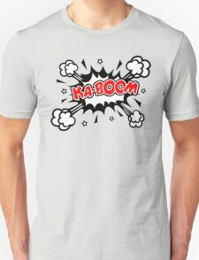COMIC KA-BOOM, Speech Bubble, Comic Book Explosion, Cartoon T-Shirt