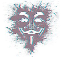Guy Fawkes' Vision Photographic Print