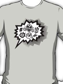 COMIC Curses, Skull, Speech Bubble, Comic Book Explosion, Cartoon T-Shirt