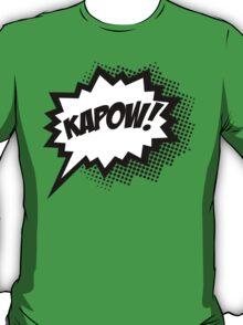 COMIC POW! Speech Bubble, Comic Book Explosion, Cartoon T-Shirt