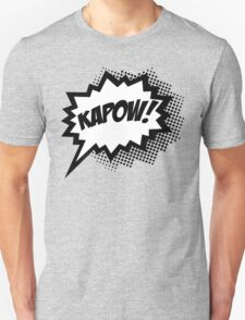 COMIC POW! Speech Bubble, Comic Book Explosion, Cartoon Unisex T-Shirt
