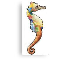 Psychedelic Seahorse Canvas Print
