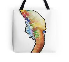 Psychedelic Seahorse Tote Bag