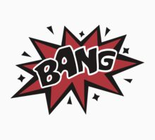 COMIC BANG! Speech Bubble, Comic Book Explosion, Cartoon by boom-art