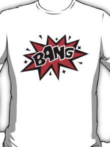 COMIC BANG! Speech Bubble, Comic Book Explosion, Cartoon T-Shirt