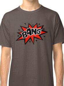 COMIC BANG! Speech Bubble, Comic Book Explosion, Cartoon Classic T-Shirt