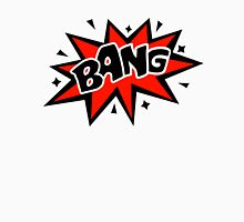 COMIC BANG! Speech Bubble, Comic Book Explosion, Cartoon Unisex T-Shirt