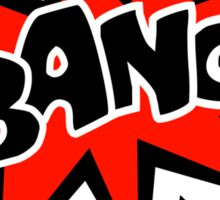 COMIC BANG! Speech Bubble, Comic Book Explosion, Cartoon Sticker