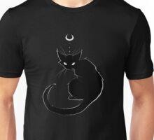 Black Cat Glare Unisex T-Shirt