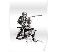 Samurai art print samurai sword japan poster japan photography japan style japan wall decor samurai poster printable japanese art sumi-e Poster