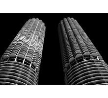 The Two Towers Photographic Print