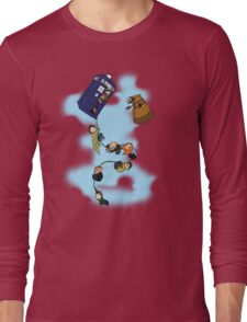 Doctor Who Tardis Ride Long Sleeve T-Shirt