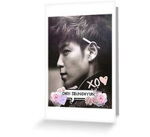 T.O.P Bigbang  Greeting Card