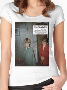 Portamento album cover Women's Fitted Scoop T-Shirt