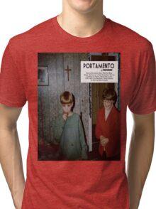 Portamento album cover Tri-blend T-Shirt