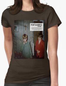 Portamento album cover Womens Fitted T-Shirt