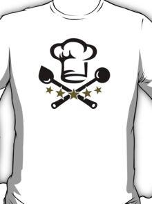 Chef Cook Hat, Cooking, Kitchen, Hotel, Restaurant T-Shirt