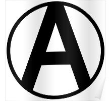 Anarchy Symbol Poster