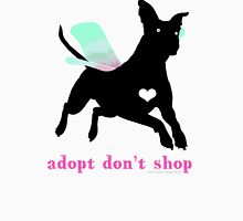 Adopt Don't Shop! Unisex T-Shirt