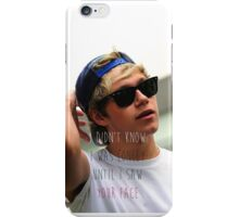 Niall Didn't Know Care iPhone Case/Skin