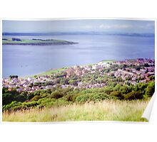 The view from the Brae Poster
