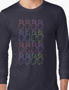 colourful hands Long Sleeve T-Shirt