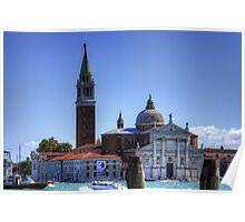 San Giorgio Maggiore Church Poster