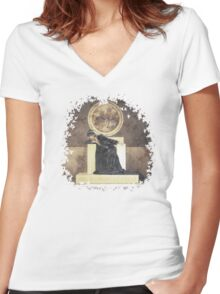 The Memory of Trees Women's Fitted V-Neck T-Shirt