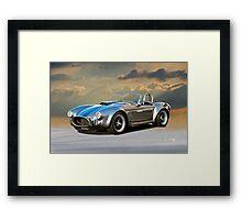 1966 Shelby 'Coiled' Cobra Framed Print