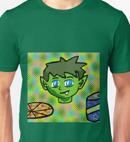 beast boy pop art style portrait Unisex T-Shirt