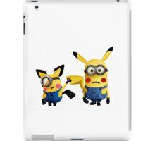 Pichu and Pika minion iPad Case/Skin