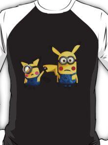 Pichu and Pika minion T-Shirt