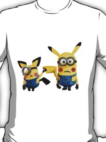Pichu and Pika minion T-Shirt