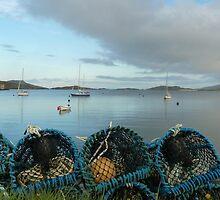 Bay at Barra by Mandy Elizabeth  Rush