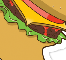 Burger Queen Sticker