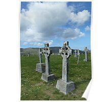 Celtic Crosses, Scotland Poster
