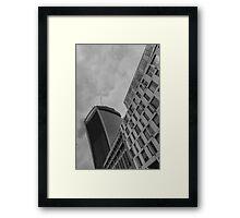 Walkie Talkie London Framed Print